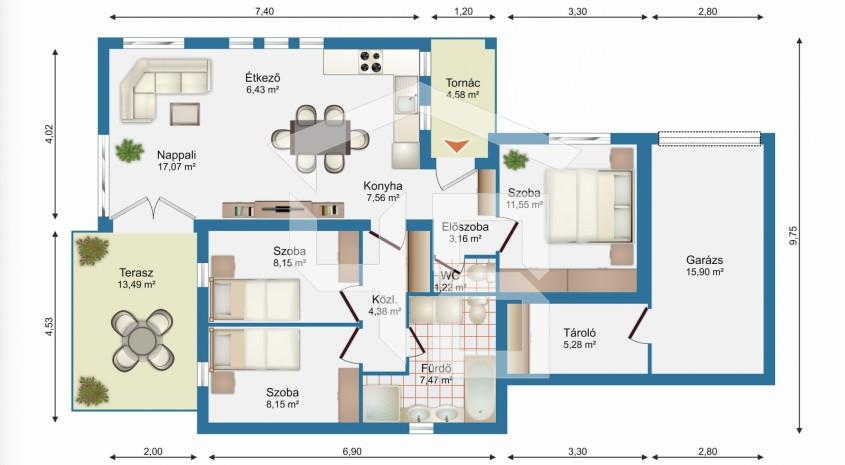 Érd Eladó Ház 54.900.000 Ft