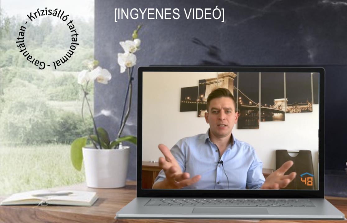 Kérd az ingyenes videót az értékmegállapításról!
